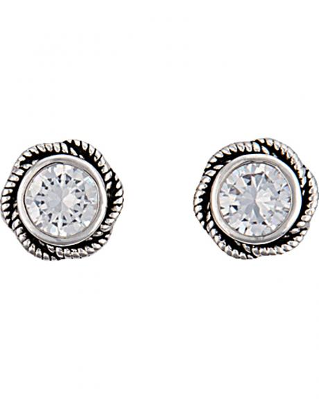 Montana Silversmiths Women's Forever Cowgirl Post Earrings