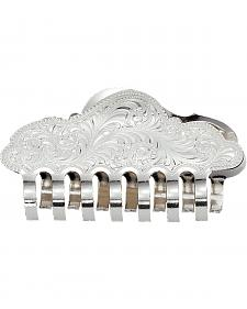 Montana Silversmiths Silver Engraved Jaw Clip Hair Accessory