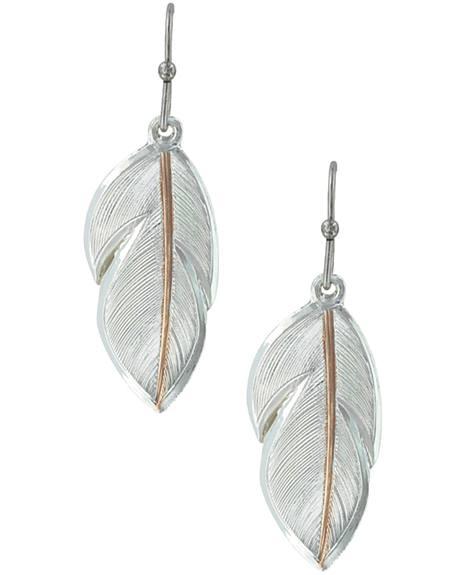 Montana Silversmiths Women's Downy Feather Earrings