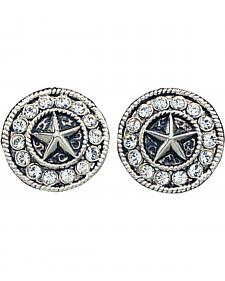 Montana Silversmiths Starlight Concho Earrings