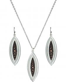 Montana Silversmiths River Pebbles at Sunset Jewelry Set