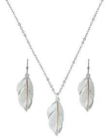 Montana Silversmiths Downy Feather Jewelry Set