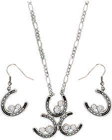 Montana Silversmiths Three's a Charm Jewelry Set