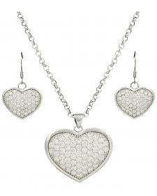 Montana Silversmiths Star Lights, Heart Bright Jewelry Set