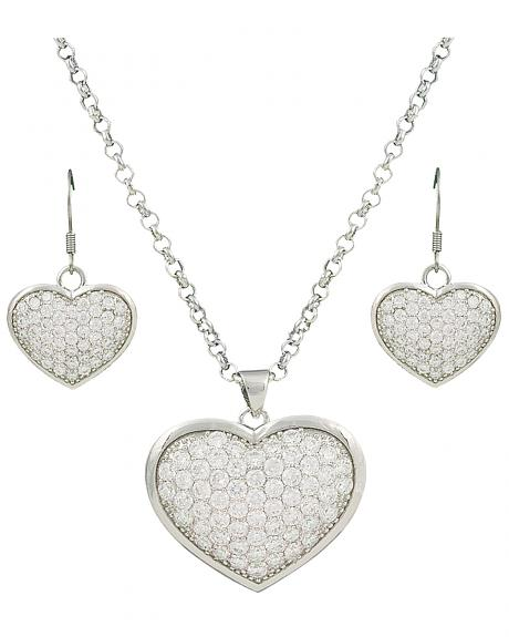 Montana Silversmiths Star Lights, Heart Bright Jewelry Set