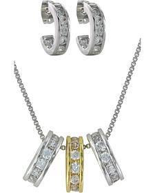Montana Silversmiths A Path of Starlights Jewelry Set