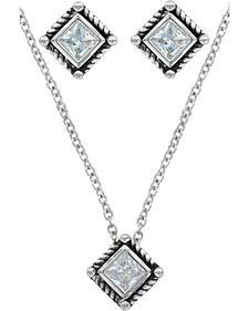 Montana Silversmiths Roped Starlight Jewelry Set
