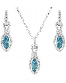 Montana Silversmiths Lassoed Starlight Jewelry Set