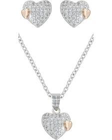 Montana Silversmiths Kindred Hearts Jewelry Set