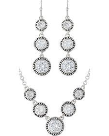 Montana Silversmiths Star Lights Dew Drop Jewelry Set