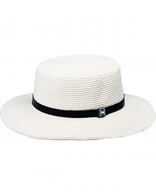 "Peter Grimm Nona 2 3/4"" White Sun Hat"