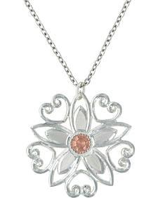 Montana Silversmiths Star Flower Love Necklace