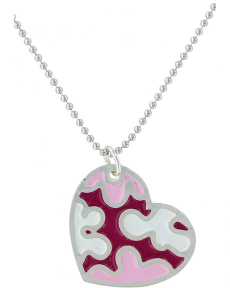 Montana Silversmiths Camouflaged In Love Necklace