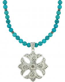 Montana Silversmiths Earth and Sky Cross Necklace