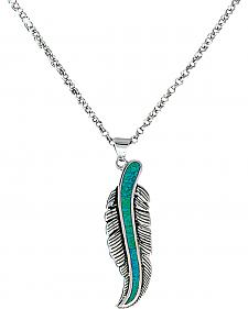 Montana Silversmiths The Storyteller Feather Necklace