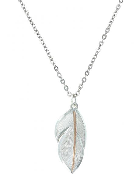 Montana Silversmiths Downy Feather Necklace