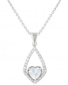 Montana Silversmiths Hearts on a Swing Necklace