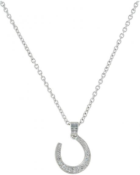Montana Silversmiths Catch Me Some Luck Horseshoe Necklace