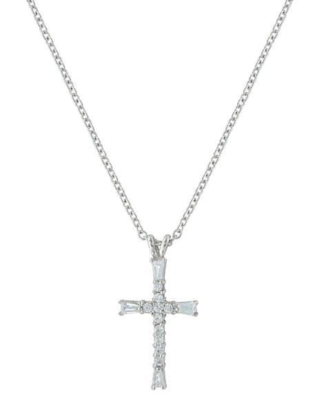 Montana Silversmiths Radiant Faith Cross Necklace
