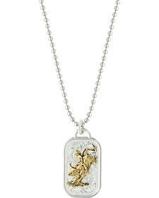 Montana Silversmiths Bullrider Classic Token Necklace