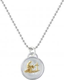 Montana Silversmiths Western Medallion Cowboy Necklace