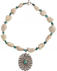 Julie Rose True Turquoise Necklace