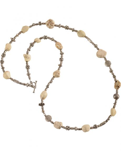 Julie Rose Natural Stone Beaded Necklace
