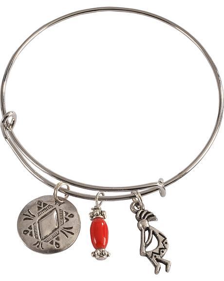 Julie Rose Red Add-A-Charm Bracelet