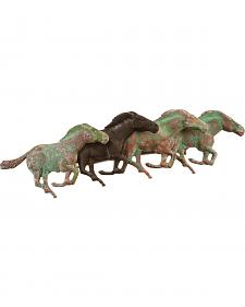 Julie Rose Running Horses Barrette