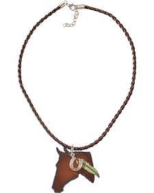 Julie Rose Horse Head Necklace