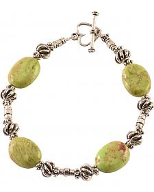 Julie Rose Green Beaded Bracelet
