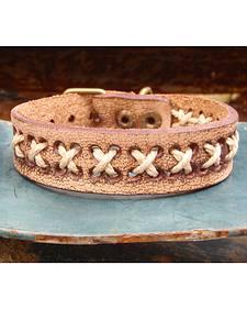 Jewelry Junkie Vintage Laced Leather Bracelet