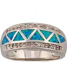 Montana Silversmiths Trickle Creek Opal Ring