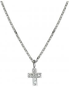 Montana Silversmiths Tiny Cross Charm Necklace