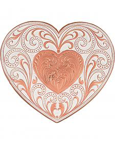 Montana Silversmiths Copper Heart Whispers Buckle