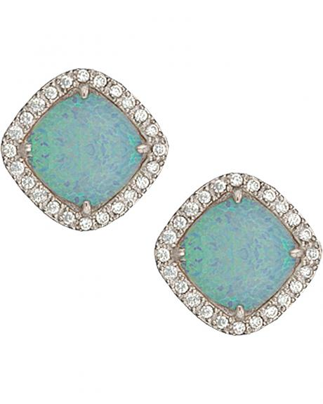 Montana Silversmiths River Lights Pools in Winter Post Earrings
