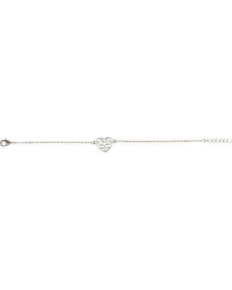 Montana Silversmiths Petite Heart's Flame Lattice Bracelet