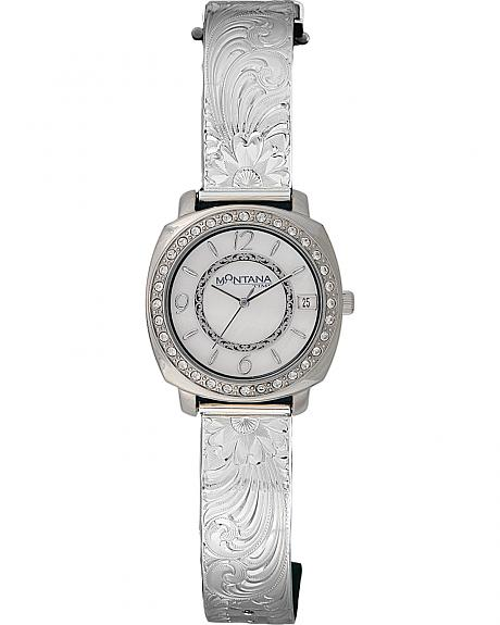 Montana Silversmiths Large Moon Face Watch