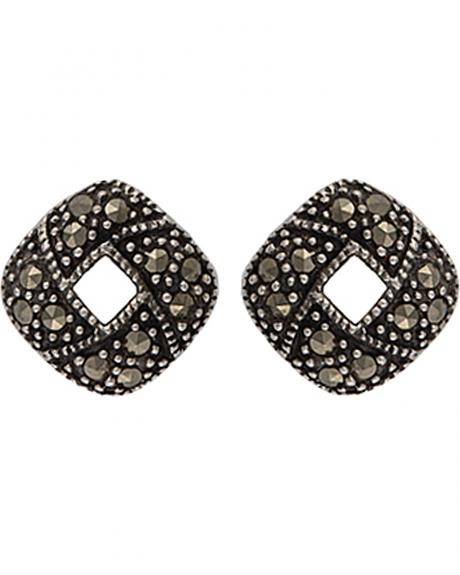 Montana Silversmiths Sparks Will Fly Fire Ring Marcasite Earrings