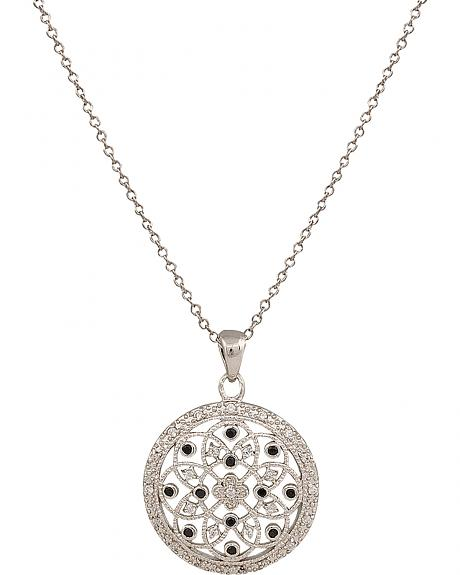 Montana Silversmiths A Lovely View Crystal Window Necklace
