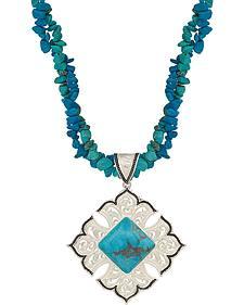 Montana Silversmiths Western Lace Garden Oasis Necklace