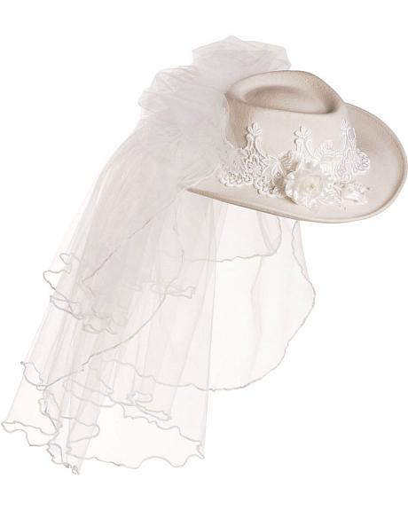 Renegade Destiny Western Wedding Cowgirl Hat