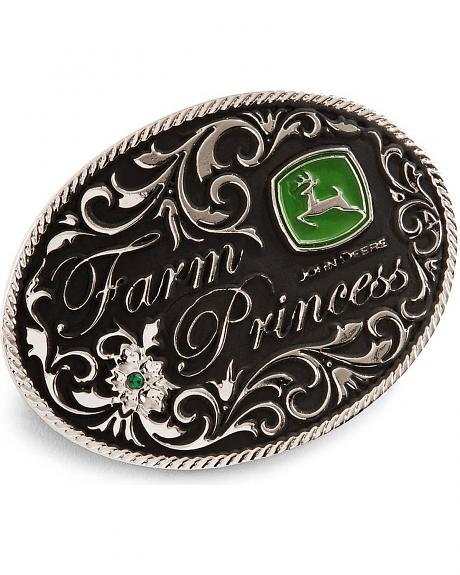 Montana Silversmiths Farm Princess John Deere Buckle