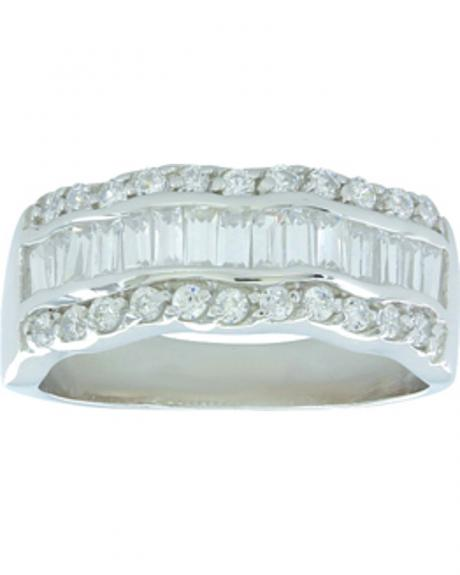 Montana Silversmiths Women's River of Light Ring