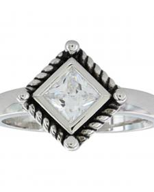 Montana Silversmiths Women's Roped Star Light Ring
