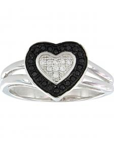 Montana Silversmiths Women's Double Layer of Love Ring