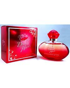 B & D Diamond Company Women's Double Hearts Perfume