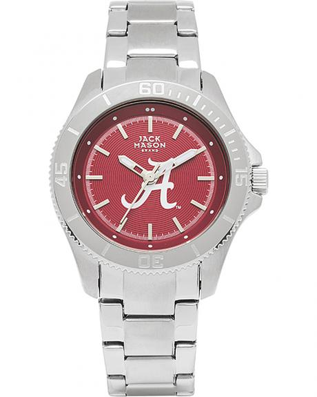 Jack Mason Women's Alabama Team Color Dial Sport Bracelet Watch