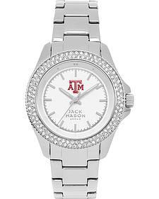 Jack Mason Women's University of Arkansas Glitz Sport Bracelet Watch