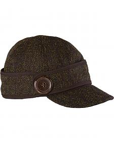 Stormy Kromer Women's Harris Tweed The Button Up Cap